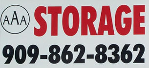 AAA Storage of Highland, (909) 862-8362